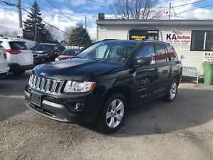 2013 Jeep Compass SPORT NORTH 4X4 NAV AUT 10999$ 514-692-0093