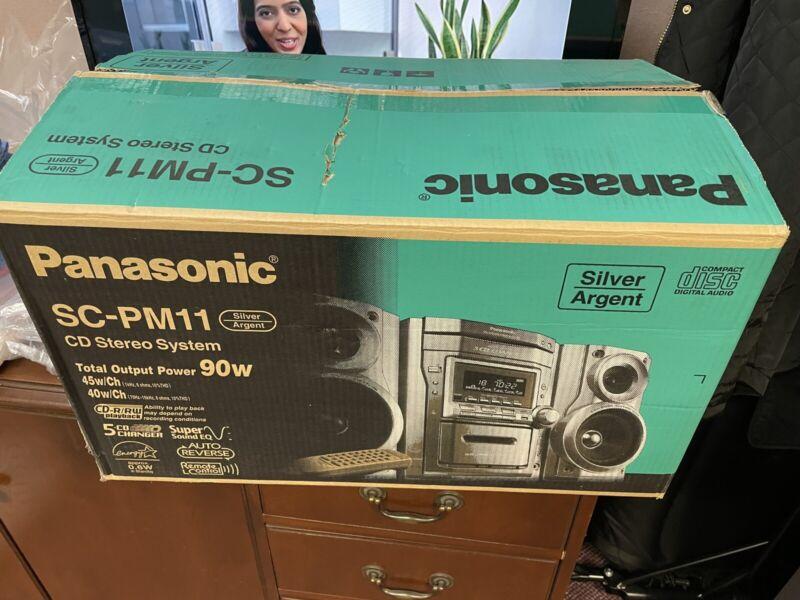 Panasonic Sc-pm11 Cd Stero System