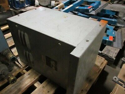 Dongan 3r Transformer 61-1065 10kva Pri 240480v Sec 120240v 1ph 60hz Used