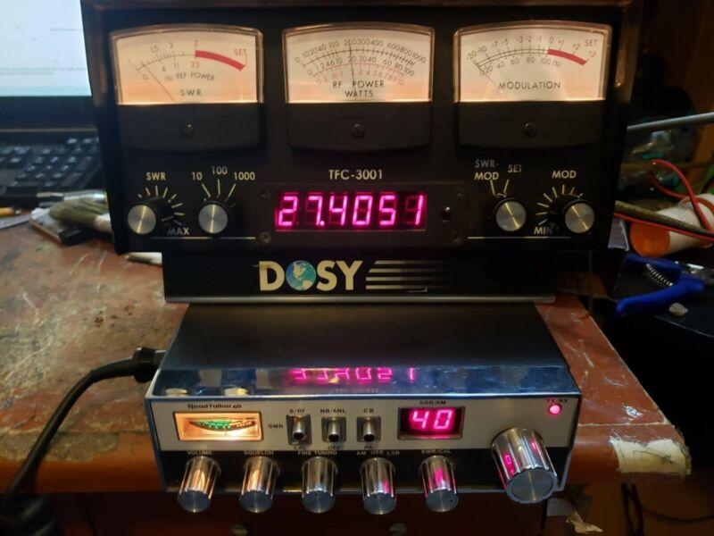 DOSY TFC 3001 SWR / POWER FREQ COUNTER