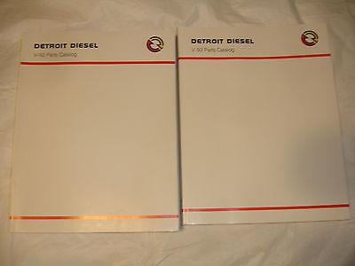 Series Parts Catalog Manual (NEW Detroit Diesel Series 92 Engines PARTS CATALOG Book Service Shop Manual OEM)
