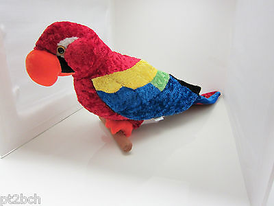 Parrot Macaw Tropical Stuffed Bird 24 inch Large Plush Great American Toy Co.