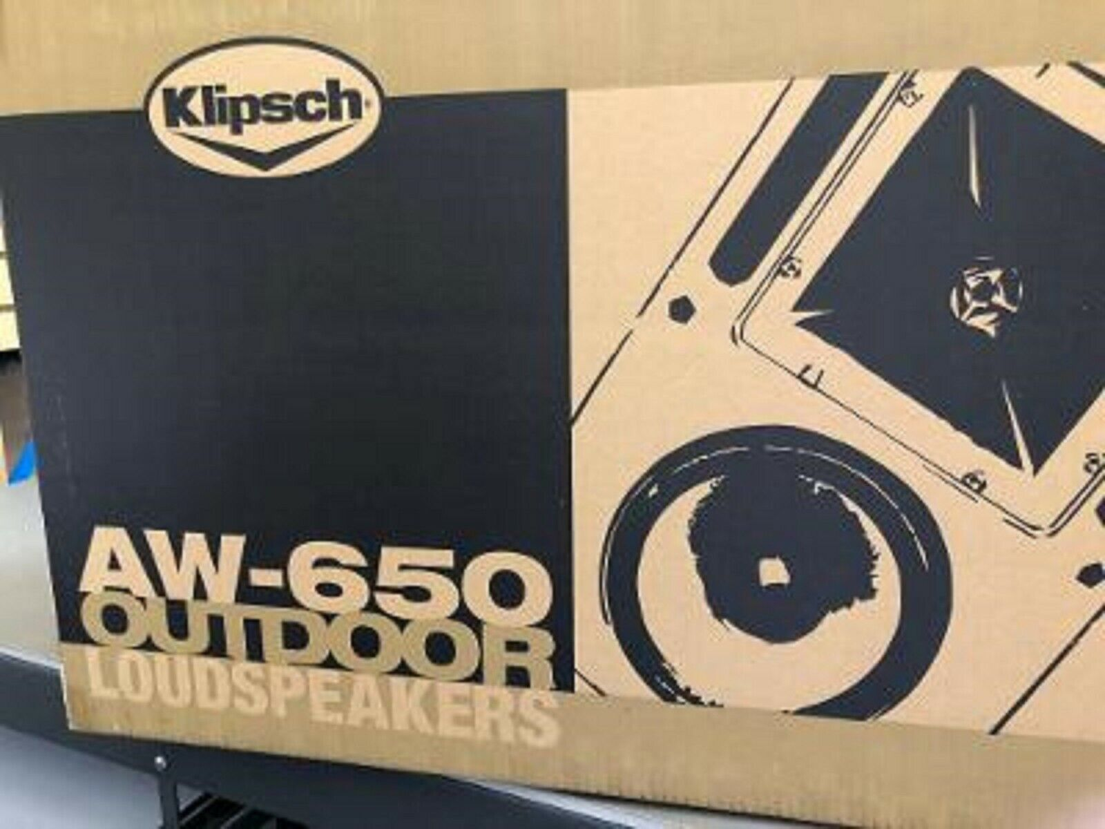 "Klipsch 6.5"" Two-Way All-Weather  Pair Loudspeaker  (white) PAIR"
