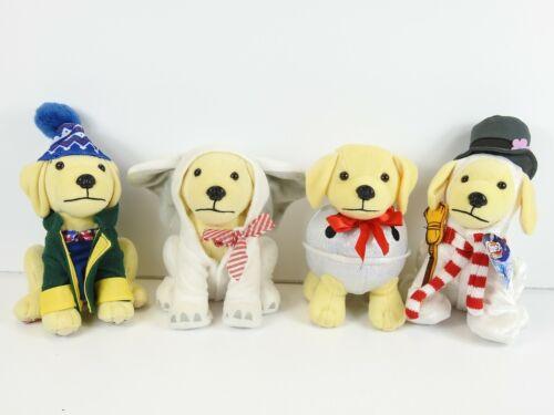 Raising Canes Holiday Plush Puppies (1) NWT (3) EUC