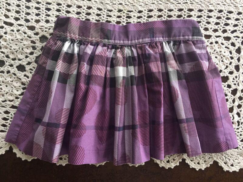 Burberry Baby Girl Purple Skirt Size 2 Years 92 CM