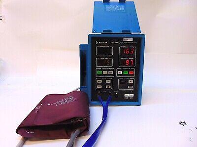 Critikon Dinamap Vital Signs Monitor 8100t With Large Adult Cuff 2791 S4318