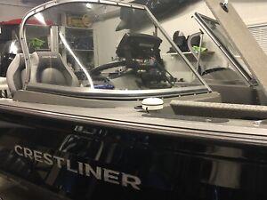 2015 Crestliner Fish Hawk 1850 with 150HP