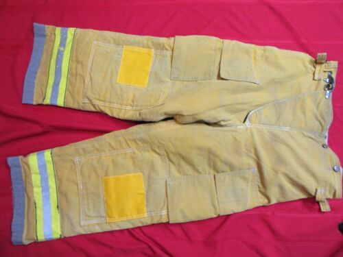 Globe 38 x 28 Firefighter Turnout bunker Pants FIRE gear halloween costume