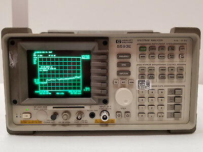Hp 8593e Spectrum Analyzer 22ghz With Opt. 041 119 130