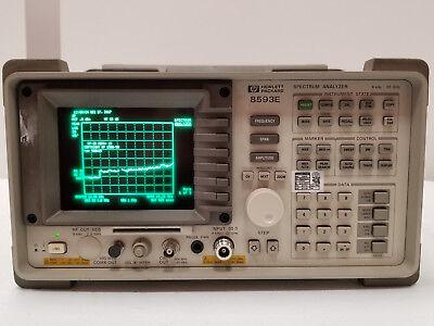 Hp 8593e Spectrum Analyzer 22ghz With Opt. 041 119 130