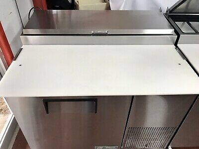 True Tpp-44 Used 44 Commercial Pizza Prep Table Cooler Refrigerator