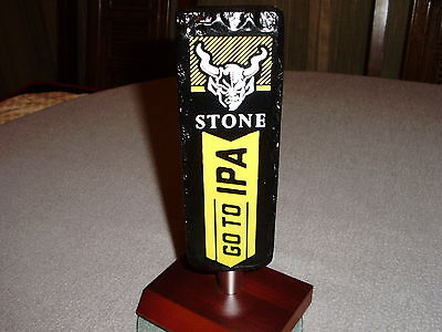 STONE BREWING COMPANY GO TO IPA INDIA PALE ALE TAP HANDLE SAN DIEGO - Stone India Pale Ale