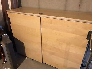 LARGE STORAGE CABINET WITH LOCK