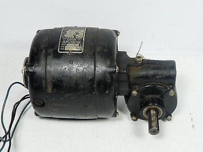 Bodine Electric 115hp 2400rpm 44lbs-in 601 Ratio Used