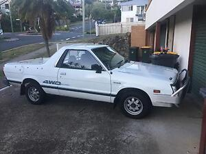 1992 Subaru Brumby high and low range 4WD Norman Park Brisbane South East Preview