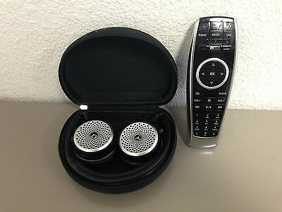 Genuine Mercedes Wireless Headphones + 1 Remote for 2014 2015 E GL ML S Class