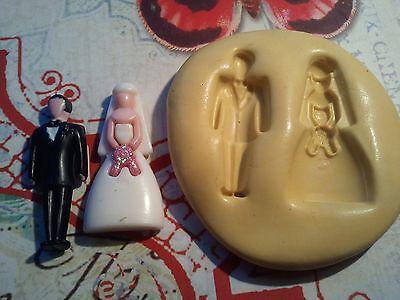 Глинистые формы Mini Wedding Couple Silicone