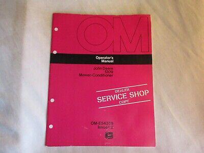 1972 John Deere 1209 Mower-conditioner Operators Manual