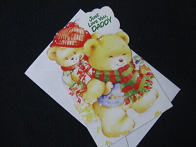 Christmas Card from Child to Daddy - Includes Shipping! ()