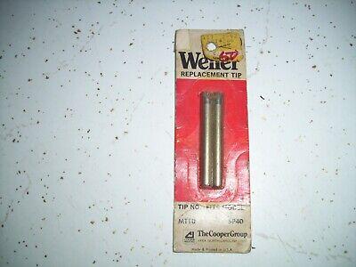 Vintage New Weller Mt10 14 Chisel Tip For Sp40 Soldering Irons