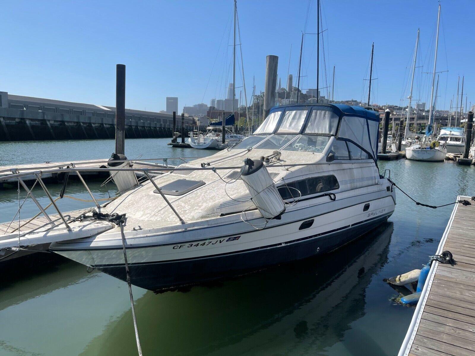 1992 Bayliner Ciera Sunbridge 26' Cabin Cruiser - California