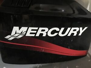 2001 merc 90hp outboard with controls