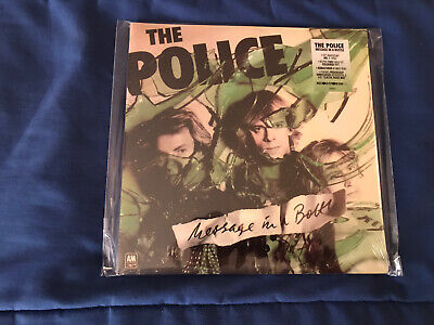 The Police RSD. Message In a Bottle ( 2 ) Colored Vinyl 45. Sealed !!!!!!!!