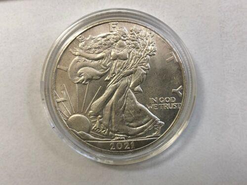 2021 American Eagle Silver Dollar, REPRODUCTION