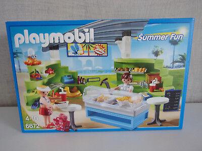 PLAYMOBIL 70111 ® City Life Mein Mitnehm-Imbiss Restaurant mit Figuren NEU OVP