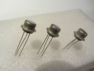 20x Mp20 Vintage Russian Germanium Pnp Transistors 50v Hfe50..150 Military