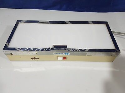 Healthco X-ray Lighted Film Viewer Dental Imaging Viewing Light Box 14 X 7