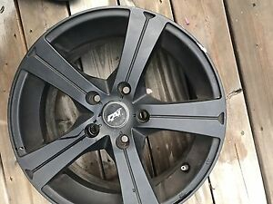 "16"" DAI Black Alloy Rims 5x114.3"