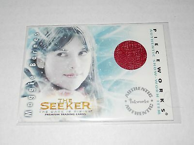 The Seeker The Dark Is Rising Costume Trading Card  Pw4 Amelia Warner