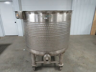 Mueller Stainless Steel Ss 270 Gallon Dimple Jacketed Double Wall Mixing Tank