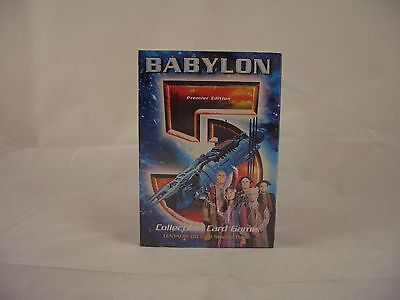 Babylon 5 - Centauri 60 Card Starter deck, Collectible Card Game