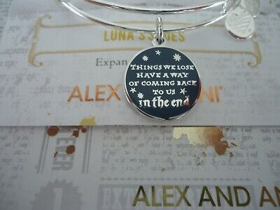 Female Harry Potter (Alex and Ani Harry Potter THINGS WE LOSE HAVE A WAY Bangle New W/Tag Card &)