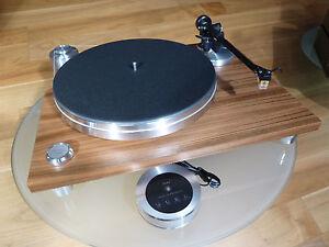 Acoustic Solid 111 Wood mit Tonarm WTB303/Ortofon Quintet Red (MC) Toller Preis