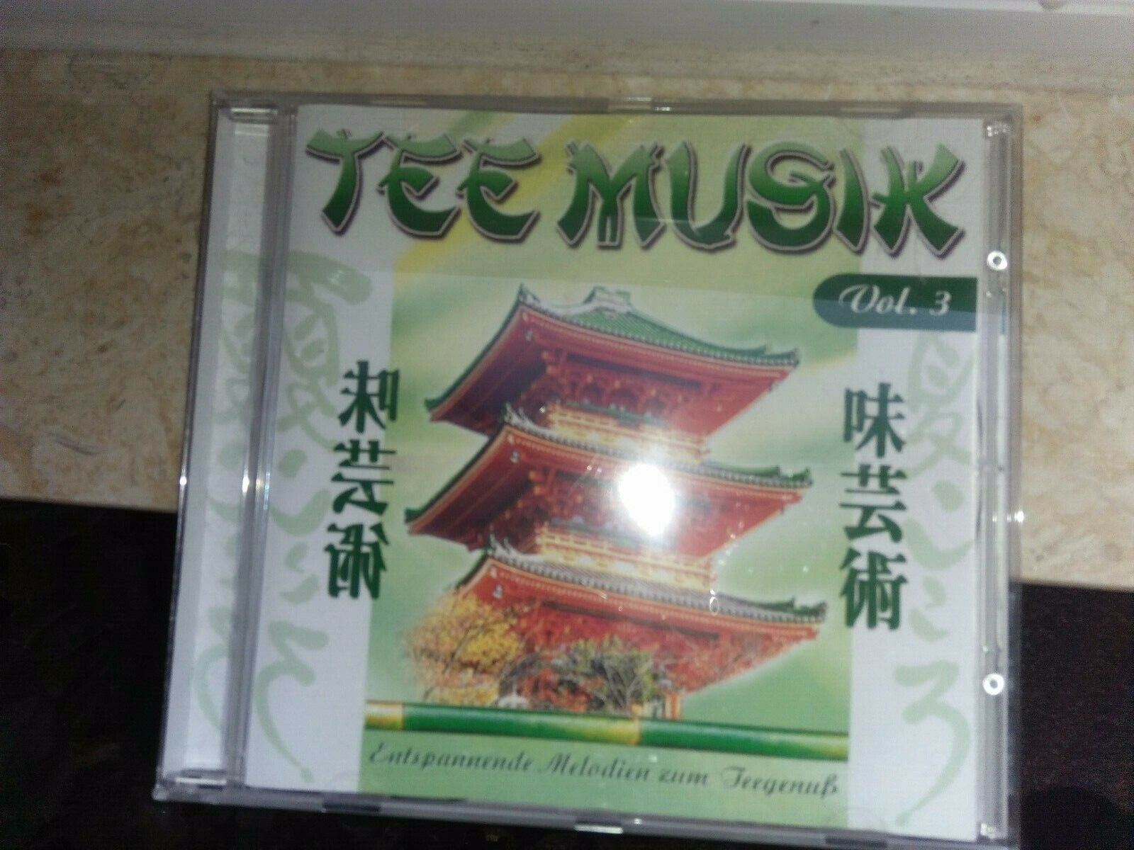 CD entspannung meditation zusammenstellung meditativer Chill Out Tee Musik