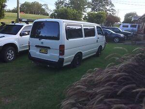 2001 Toyota SWB Hiace Van Toormina Coffs Harbour City Preview