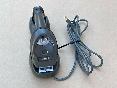 Symbol Motorola Li4278 Wireless 2d Barcode Scanner Charging Cradle Dock Usb