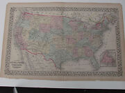Antique United States Map