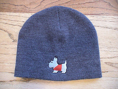 Scotty Cameron Titleist Scotty Dog Knit Hat Cap Gray New Very Hard To Find New