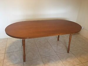 Wooden dining room table Mortdale Hurstville Area Preview