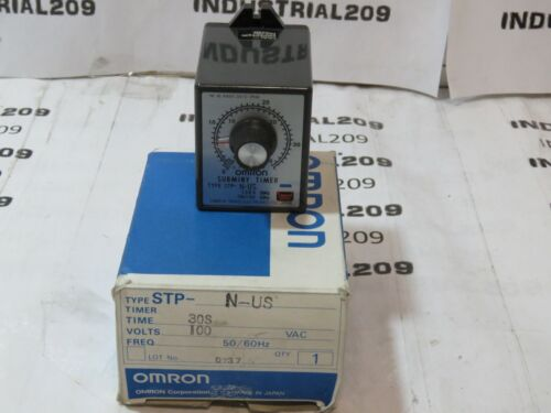 OMRON STP-N-US SUBMINY TIMER NEW IN BOX