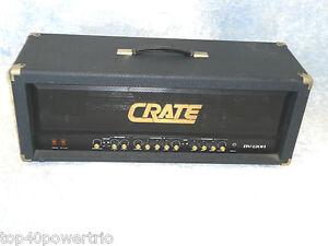 crate blue voodoo 120 watt all tube guitar amp head ebay. Black Bedroom Furniture Sets. Home Design Ideas