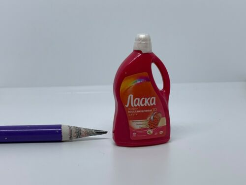 T051 Dollhouse Miniature Aacka Liquid Detergent migros supermarket