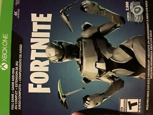 Fortnite xbox bundle skin pack