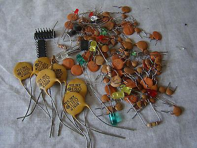 Mixed Lot Of Assorted Transistors 271536