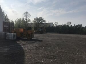 Yard space available  or truck parking