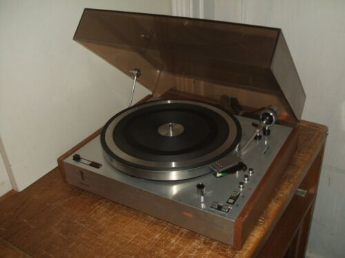 Philips 202 Electronic Turntable 3 Speed Serviced! Vinyl Record Player Holland